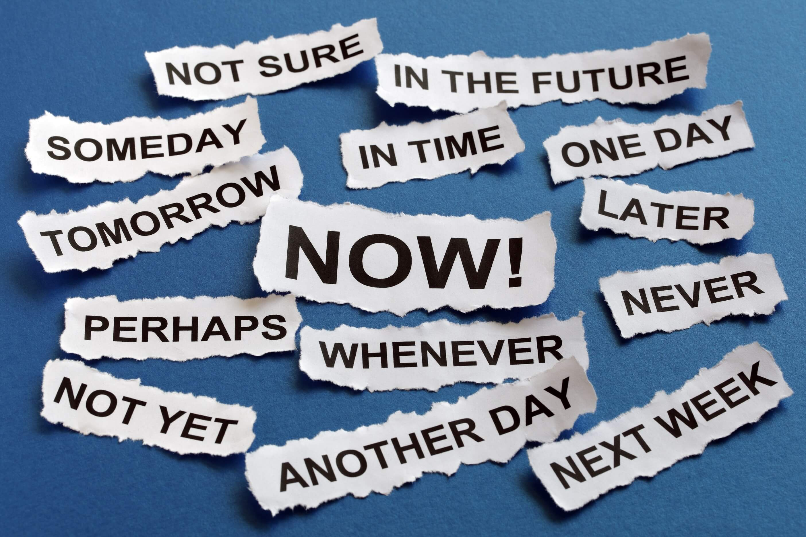 5 Tips for Beating Procrastination