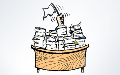 4 Things you can do today to tackle the paperwork mountain
